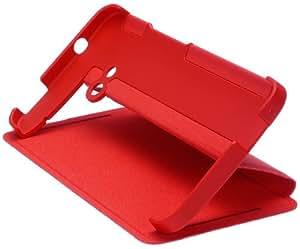 HTC HTCHCV841RD Schutzhülle mit integriertem Stand für One rot