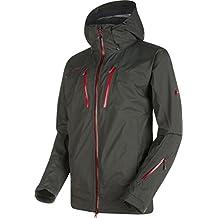 Mammut Stoney HS Jacket Men–Cazadora para deportes de invierno, graphite/lava