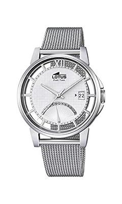 Lotus Reloj Hombre de Analogico con Correa en Chapado en Acero Inoxidable 18326/1 de Lotus