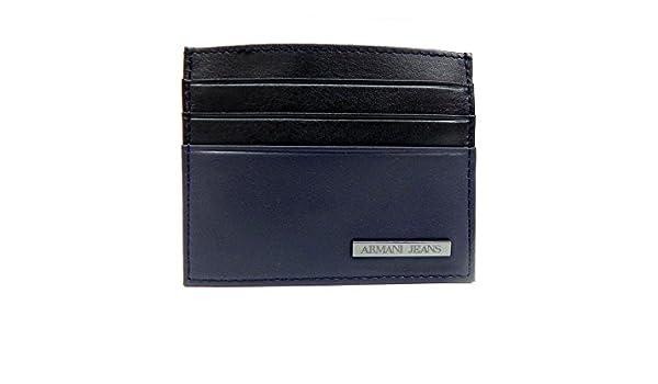 Armani Jeans Herren Visitenkartenetui 06v3b V4 20 Amazon De