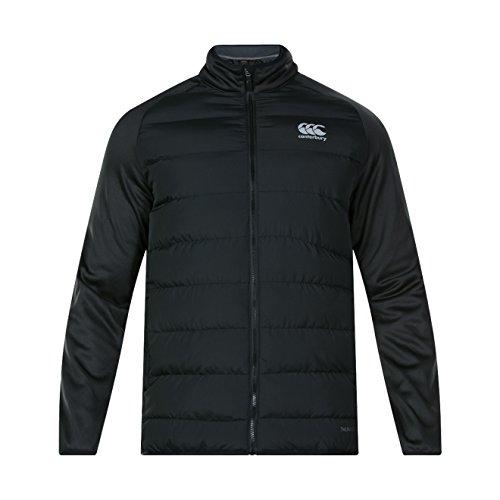 Canterbury Herren Thermoreg Hybride Jacke, Schwarz, XL - Adidas Fleece Rugby