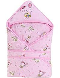 Bebé Que Recibe Manta De Algodón Bebés y Niños Pequeños Bebé Sweety Capucha Manta De Dormir