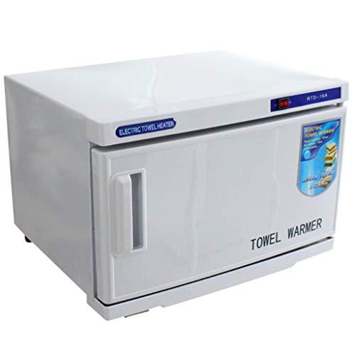 UV-Sterilisatoren 16L UV Hot Gesichtshandtuchschrank, Sterilisator Desinfektionswärmer für Werkzeug für Schönheitssalon, Spa und Zuhause (Handtuchschrank)