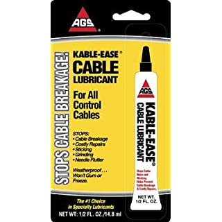 LUBE LIQ GRAPHITE 1/2OZ by AGS MfrPartNo MZ-4H by AGS (American Grease Stick )