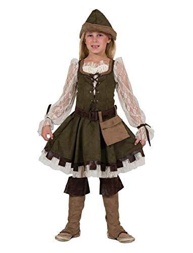 Robin Hood Girl Kostüm Mädchen Gr. (Robin Hood Kostüm Mädchen)