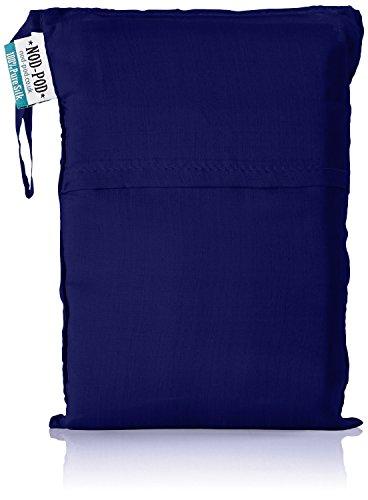 Nod-Pod 100% Reine Seide Innenschlafsack Hüttenschlafsack Inlett Sleeping Bag Liner - viele Farben (Blau - navy)