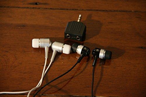 wise-primate-twin-earphones-bundle-with-headphone-splitter-ideal-for-sharing-ipad-iphone-phones-tabl