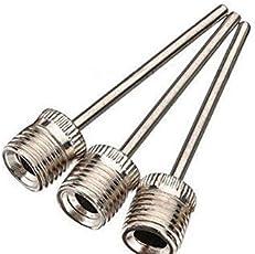 3Pcs Inflating Needle Pin Nozzle Basketball/Football Ball Air Pump by SK Sports