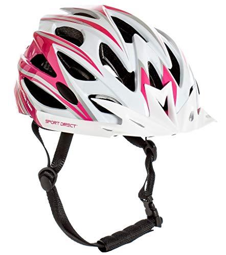 Sport Direct 'Team Comp 24 Vent Fahrradhelm für Damen, Rosa, 55-58 cm, CE EN1078:2012+A1:2012