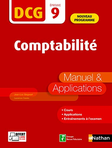 Comptabilité - DCG 9 - Manuel et applications (09) par Laurence Cassio