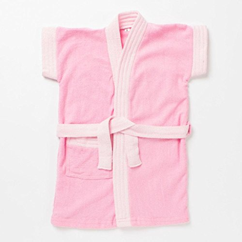 Pebbles Baby Light Pink Bath Robe