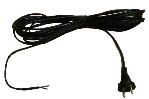 Mister vac A296 Staubsaugeranschlusskabel/Flachkabel 9 m VDE H05 V V H 2 - F 2 x 0.75 für Staubsauger mit Kabelaufwicklung