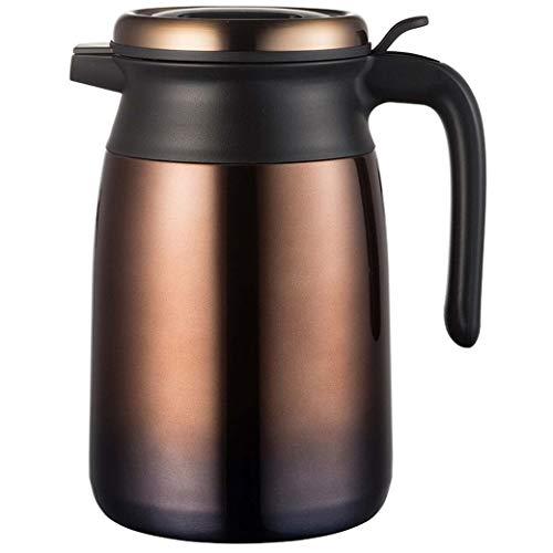 DongYuYuXuXi Doppel-Edelstahl-Isolierung Topf 1.8L große Kapazitäts-Isolierung und kalte Bewahrung Wärmflasche Vacuum Thermos Kaffee, Tee, Getränke, Etc.