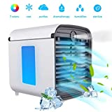 BASEIN Portable Air Cooler, 4 in 1 Mobile Air Conditioner, Humidifier, Purifier