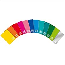 Blasetti One Color, Quaderno Formato A5, Rigatura A, Pacco da 10 Pezzi
