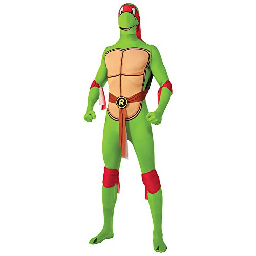 age Mutant Ninja Turtle Kostüm (Raphael) - Large (Halloween-kostüme-teenage Mutant Ninja Turtles)