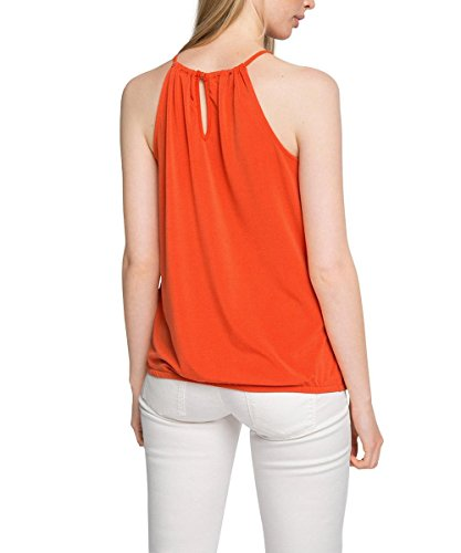Esprit Mit Stretch, Débardeur Femme Rot (ORANGE RED 635)