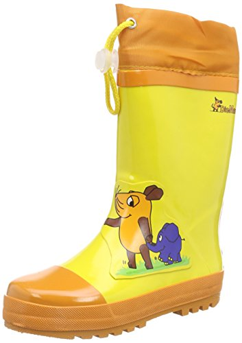 Playshoes Rubber Mouse and Elephant, Unisex Kids' Rain Boots