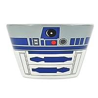 """Tazza per cereali Star Wars """"R2-D2"""" bianco, stampato, in ceramica. Caratteristiche del prodotto Tazza per cereali R2-D2 Star Wars: Design: articolo con licenza ufficiale Star Wars Disney Dimensioni: ca. 14x9 cm Materiale: ceramica Colore: bia..."""