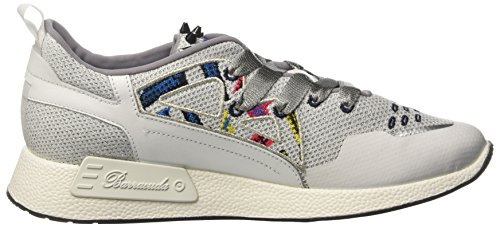 Barracuda Bd0723, Sneakers basses femme Bianco