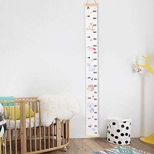 Atiehua Requisiten Holz Wandbehang Baby Höhe Messen Lineal Wandaufkleber Dekorative Kind Kinder Wachstumstabelle Für Schlafzimmer Dekoration