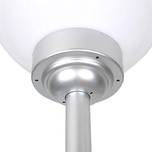 Solarlampe mit LEDs Gartenlampe wetterfest IP44 Kugelleuchte (Größenwahl) - 3