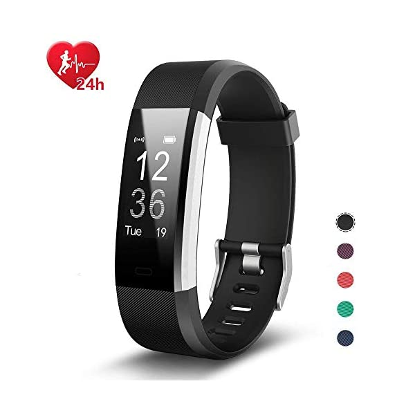 Fitness Tracker Smart Watch With Heart Rate Sleep Monitor Connected GPS Function Smartband Sport Wristband Pedometer Activity Tracker Calorie Counter Bracelet For Android IPhone IOS Phones