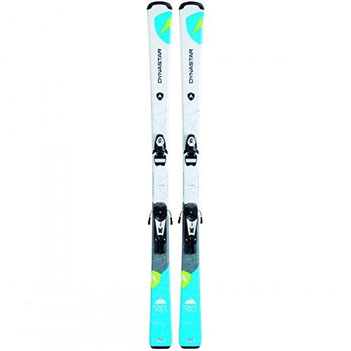 dynastar-pack-esqu-powertrack-4x-4-fijaciones-look-nx-9rtl-b83mixta-mixta-blanco-blanco-150-cm
