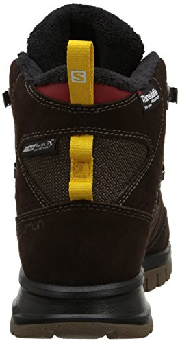 Salomon  Utility Pro TS CSWP, Chaussures de trekking et randonnée homme Marron - Braun (Trophy Brown Ltr/Absolute Brown-X/S)
