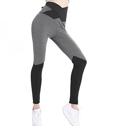 Damen Sport Hose Yoga Leggings Strumpfhosen Workout Hose Running Hose Sportbekleidung Fitness Hosen Yoga Pants Workout Leggings