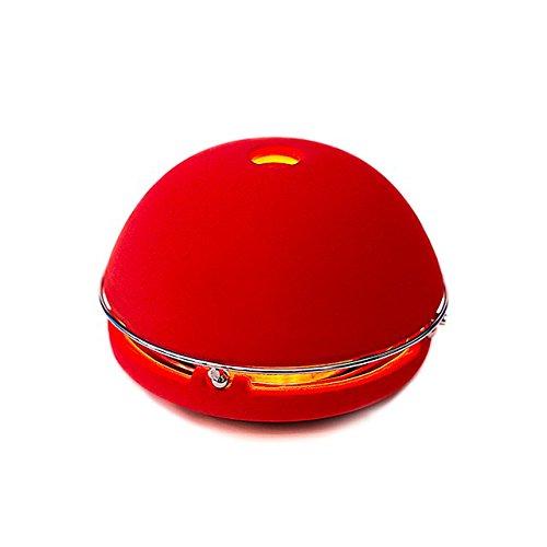 Egloo Rot - Multifunktionsprodukt mit mobile heizung, aroma diffuser, Luftbefeuchter, Luftreiniger, laterne und Zubehör deko für garten, Yoga, Büro, hochzeit, balkon, wohnzimmer - Beruhigen Sie Wellness-Öl