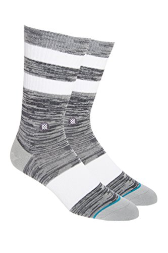 Stance Mission Socks - Grey-Large