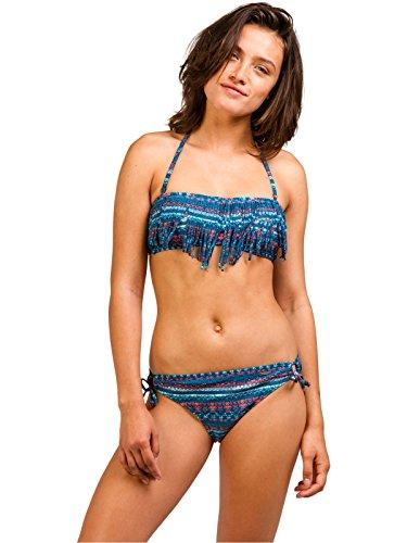 Protest Damen Bikini Wandering 17 zweiteilig blau/koralle