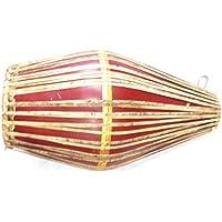 Vrindavan Bazaar Faser Mridangam drum- braun