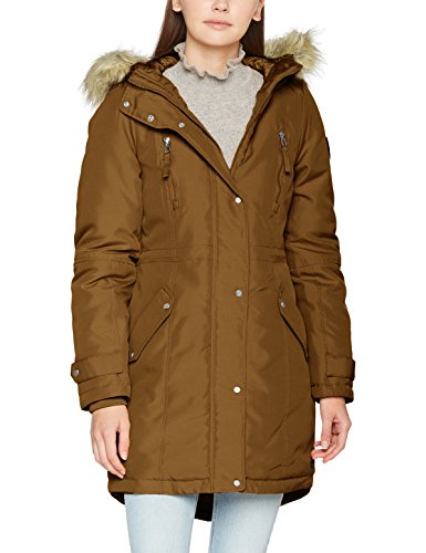 Robe Mantel (VERO MODA Damen Vmtrack Expedition 3/4 Parka, Braun (Monks Robe), 38 (Herstellergröße: M))