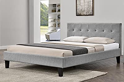 Blenheim Fabric Upholstered Bed Frame Single / Double / King Size by Sleep Design produced by Sleep Design - quick delivery from UK.