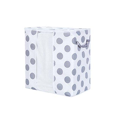 Yncc Kleidung Decke Quilts Aufbewahrungstasche, 4 Größen Aufbewahrungstasche, Eco-Friendly Vliesstoff Für Ladensteppdecke, Mantel, Wattierte Jacke, Kopfkissen, Decke (A, 42 * 27 * 50cm) -