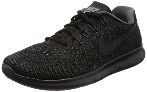 Nike Damen Free RN 2017 Traillaufschuhe, Schwarz (Black/Anthracite/Dark Grey/Cool Grey 003), 37.5 EU