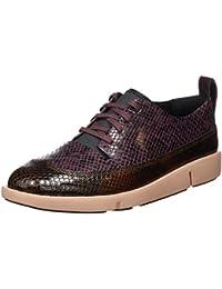 Clarks Tri Nia, Zapatos de Cordones Derby para Mujer