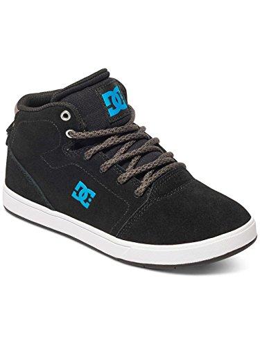 Kinder Sneaker DC Crisis High Sneakers Jungen Black/Blue/Grey