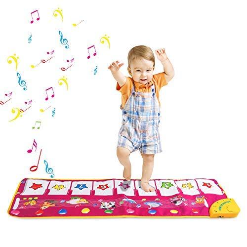 Zmoon Piano Mat for Kids, Musica...