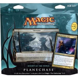 Versitale Magic The Gathering- MTG: Planechase (2012 Edition) Night Of The Ninja - Game Pack Toy / Game / Play / Child /