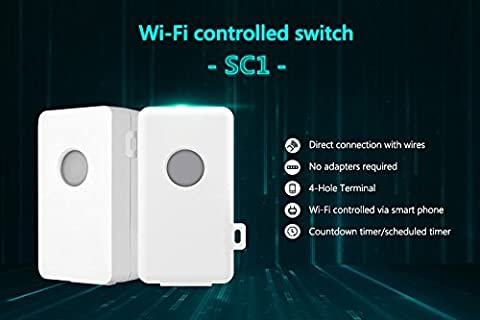 Broadlink SC1 Wifi Controller Smart Home Automation Modules APP Wireless Wifi Remote Controlled Power Switch via Mobilephone