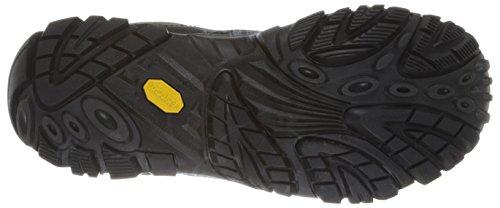 Merrell Moab Rover Mid Wtpf, Chaussures Bébé marche homme Black