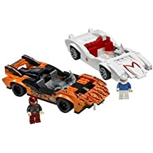 LEGO - 8158 - Racers - Jeux de construction - Speed Racer & Snake Oiler