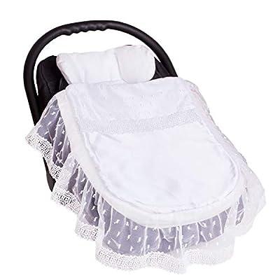 Sevira Kids–Saco universal–protectora para el cochecito o asiento auto–de Algodón para primavera–Verano–Otoño