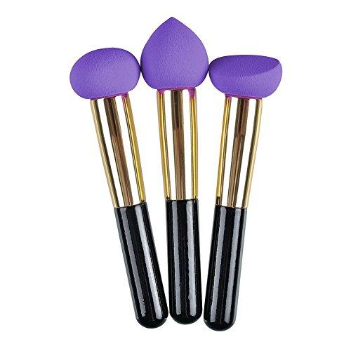 3-pcs-cosmetico-liquido-crema-correttore-fondazione-spugna-spugne-spugna-spazzola-pennello-hot-pink-