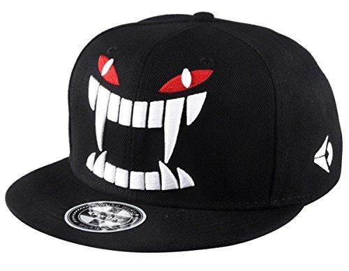 Imagen de aivtalk  negra  de béisbol hip hop sombrero plano con bordado ajustable snapback accesorio para homber mujer