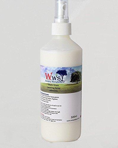 Adhesivo de Spray Estático de Hojarasca 500ml por WWS
