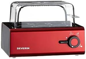 Severin Style Jug Egg Boiler, Red/ Black